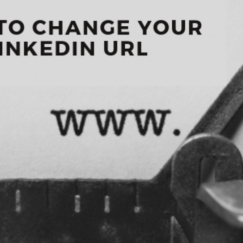 How To Change Your LinkedIn URL